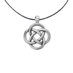 Celtic Knot Stainless Steel Pendant 9374